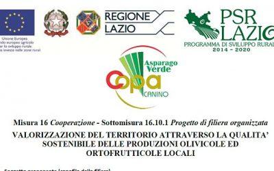 Progetto di filiera territoriale COPA