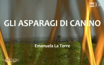 Geo & Geo a Canino con un servizio sull'asparago verde